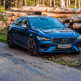 The 2018 Volvo S90 - Stretched out Sedan