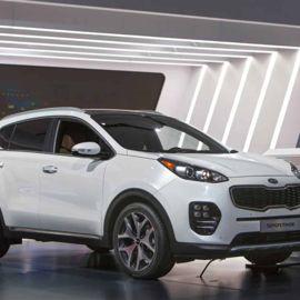 The Kia Sportage SUV