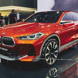 The All-New BMW X2 CUV