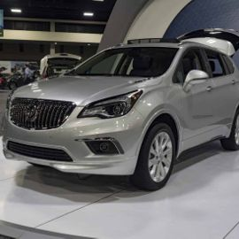Inside the 2018 Buick Envision