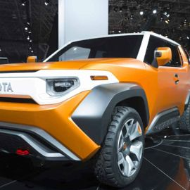 The 2018 Toyota FT-4X Concept