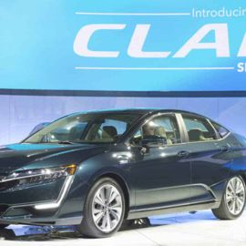 The 2018 Honda Clarity