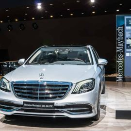 The Luxurious 2018 Mercedes Maybach