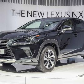 Inside The Stunning Lexus NX SUV
