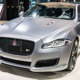 The Jaguar XJR575