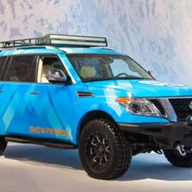 The 2018 Nissan Armada