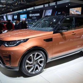Inside the Land Rover Discovery