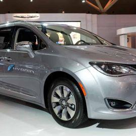 The 2018 Chrysler Pacifica Hybrid