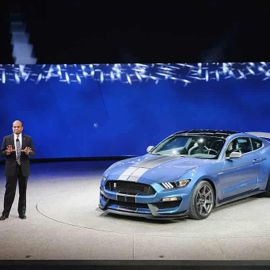 The 2019 Ford Mustang Shelby GT350