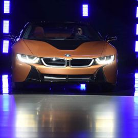 The 2019 BMW i8 Roadster: Bringing Concept Car Excitement to a Highway Near You