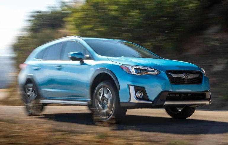 Subaru Introduces its First Plug-In Hybrid, the Crosstrek Hybrid, in the U.S.