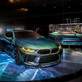 Make Way for the Sportiest Luxury Coupe on the Block: The 2019 BMW M8