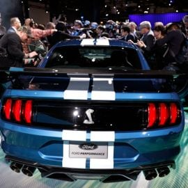 This is the 2020 Ford Mustang Shelby GT500