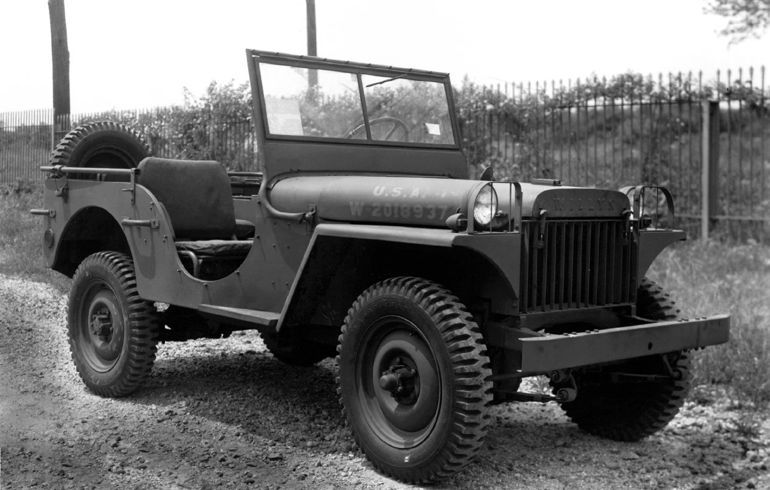 Jeep Through the Ages