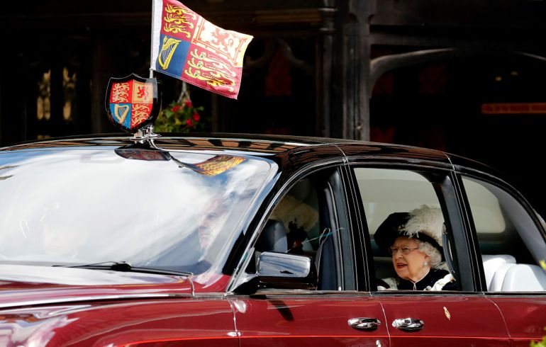 Inside England's Royal Family Car Collection