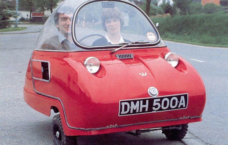 It's Bizarre, it's a Car but it Might Not Go Far