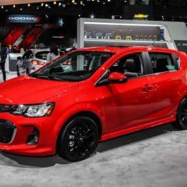 The 2018 Chevrolet Sonic