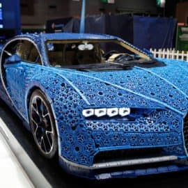 The Life-sized Lego Bugatti