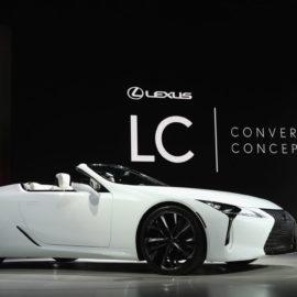 Please Enjoy the Lexus LC Convertible Concept