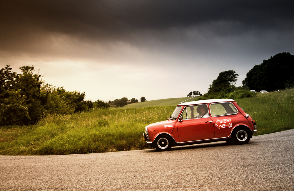 History of the Mighty Mini Cooper