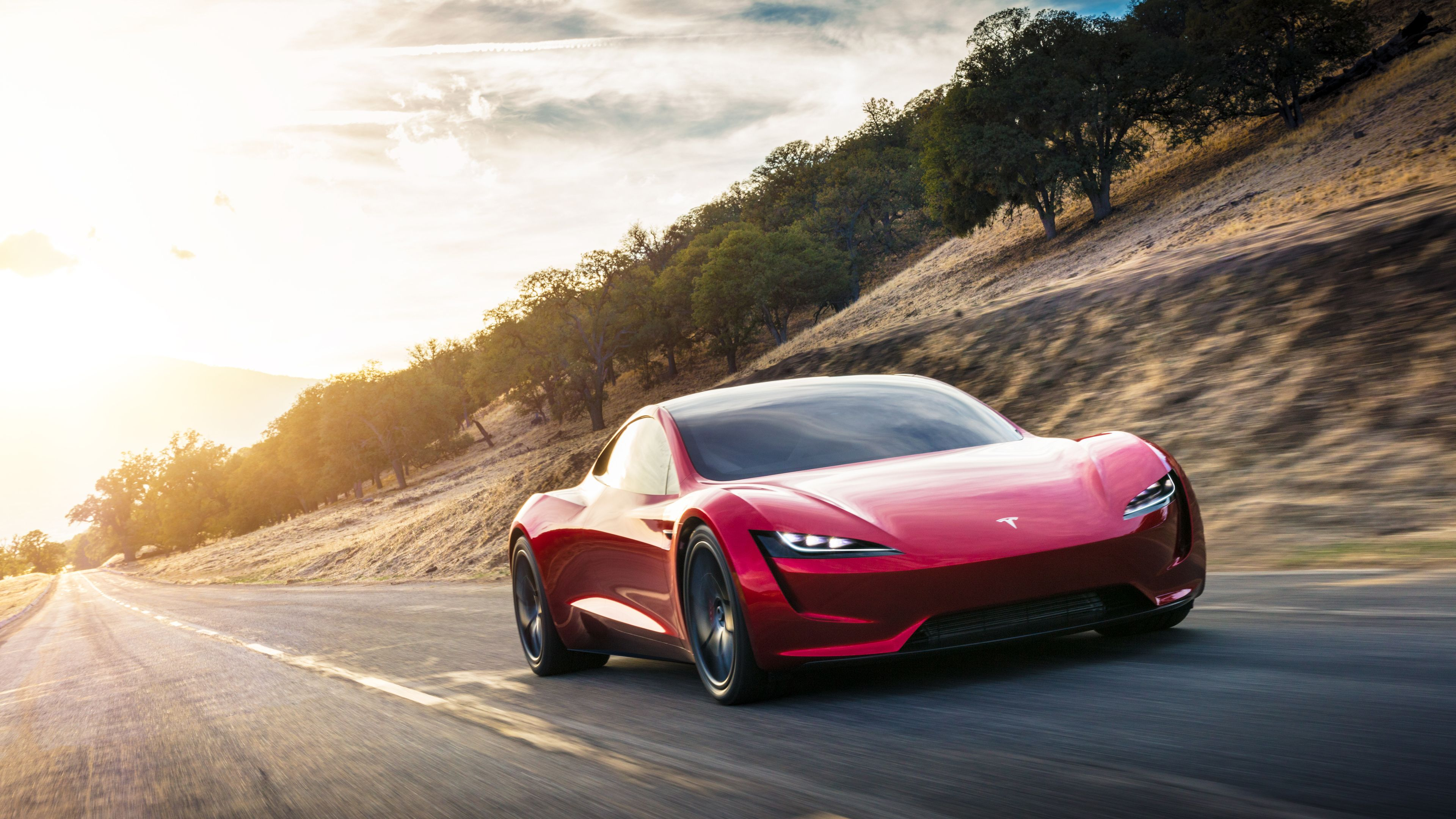 The Shockingly Hot 2020 Tesla Roadster